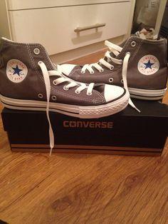 Grey converse x
