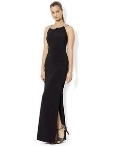 http://1tagdeals.com/fashion/shop/lauren-ralph-lauren-beaded-jersey-gown-black-8/