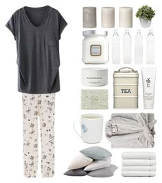 """""""Home Spa"""" by canarmonial ❤ liked on Polyvore featuring Morgan Lane, Coyuchi, Linum Home Textiles, Byredo, Laura Mercier, H2O+, Seletti, Nearly Natural, Home and relax"""