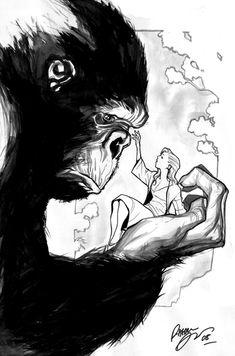 King Kong by Rafael Albuquerque