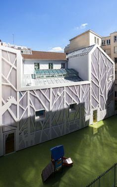 B+C architectes · Ristrutturazione dell'asilo in rue Jules Guesde · Architettura italiana