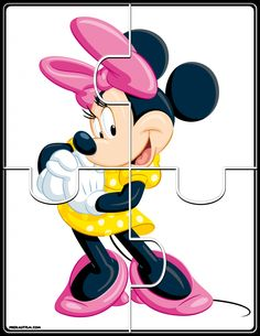 Printable Mickey & Friends Jigsaw Puzzles - Autism & Education FREE basic puzzles for early developing skills. Kids Crossword Puzzles, Preschool Puzzles, Jigsaw Puzzles For Kids, Puzzles For Toddlers, Preschool Worksheets, Toddler Learning Activities, Preschool Learning Activities, Kids Learning, Autism Education