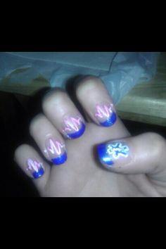 Mom's EMT nails :)