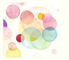 watercolour circles