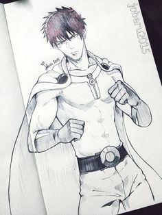 Saitama One Punch Man by Joberu on DeviantArt
