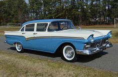 Pick of the Day: Low-mileage 1957 Ford survivor Listing Ford Classic Cars, Best Classic Cars, Classic Auto, Vintage Cars, Antique Cars, Vintage Stuff, Good Looking Cars, Ford Ltd, Ford Fairlane