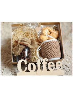 Coffee Gift Ideas For Her Coffee Gifts For Women Basket . Coffee Gift Ideas For Her Coffee Gifts For Women Basket … Coffee Gift Ide Christmas Gift Box, Craft Gifts, Diy Gifts, Holiday Gifts, Coffee Box, Coffee Gifts, Coffee Lovers, Friend Birthday Gifts, Gifts For Friends
