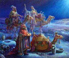 Gallery.ru / Фото #1 - Сегодня будет Рождество, весь город в ожиданьи тайны…