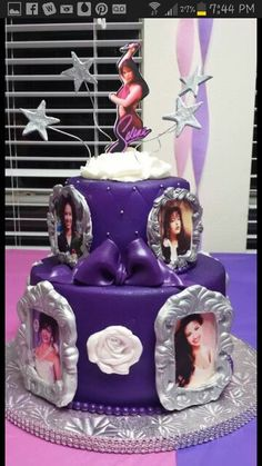 Selena Cake! Beautiful!
