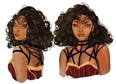 some fun drawings i did of superboy, storm and wonder-woman a while back! Black Girl Art, Black Women Art, Art Girl, Black Art, Black Girls, Character Concept, Character Art, Concept Art, Character Ideas