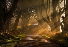 Road goes Ever On & On by Gary McParland (50 Mind-Blowing Examples of Landscape Photography via Bored Panda)