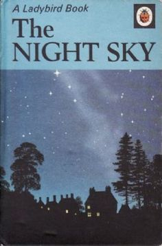 THE NIGHT SKY Vintage Ladybird Book Nature Series 536 Matt