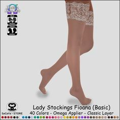 SaCaYa - Lady Stockings Fioana (Basic)