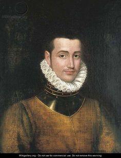 Portrait d'un gentilhomme, après Antonis Mor