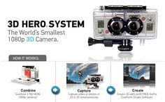 GoPro or Go Home: New 3D Video Camera System on http://blog.gifts.com