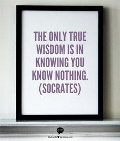 Socrates...