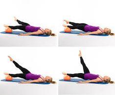 """Résultat de recherche d'images pour """"pilates exercises with the small ball"""""""