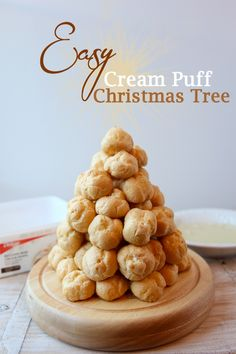 How to Make a Cream Puff Christmas Tree