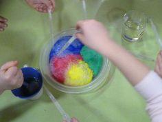 Zábavný pokus pre deti - záhada šumiaceho ľadu - Aktivity pre deti, pracovné listy, online testy a iné Cotton Candy, Experiment, Floss Sugar