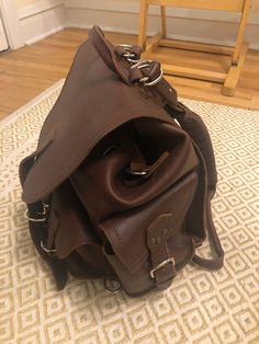 6fb21e0a0fab Saddleback Leather Medium Front Pocket Backpack  fashion  clothing  shoes   accessories  mensaccessories