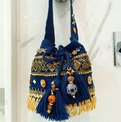 Miss G Bags Fabric Handbags, Fabric Bags, Purses And Handbags, Fashion Bags, Boho Fashion, Drawing Bag, Hippie Bags, Diy Handbag, Wallet Pattern