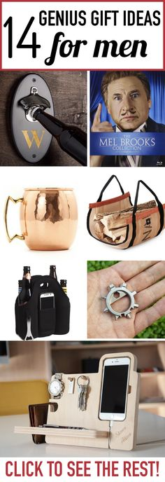Men can be SO HARD to shop for! This list of cool gift ideas for men has some awesome and unique gifts that men will love. Trending Christmas Gifts, Diy Christmas Gifts, Christmas Ideas, Homemade Christmas, Christmas Gifts For Boyfriend, Boyfriend Gifts, Unique Gifts For Men, Gifts For Her, Cool Gifts For Guys
