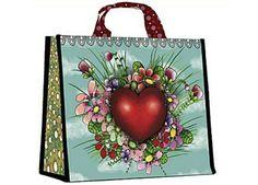 Romantische Einkaufstasche 'Coeur'