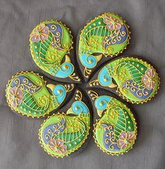 Печеньки с моим любимым узором пейсли от кондитерской Montreal Confections.  Источник: http://www.flickr.com/photos/montrealcookies/4409597563/in/photostream/