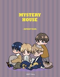 Seventeen Mystery House – Hiphop Unit- I grouped the above questions in regards to the pencil drawing that I received …