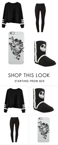 """""""Untitled #849"""" by karinacabrera ❤ liked on Polyvore featuring 7 For All Mankind and Uncommon"""