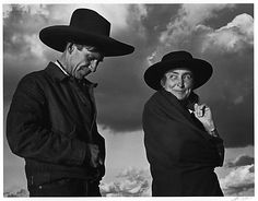 Georgia O'Keeffe and Orville Cox, Canyon de Chelly National Monument, Arizona / Ansel Adams / 1937, printed 1974 / at the Met