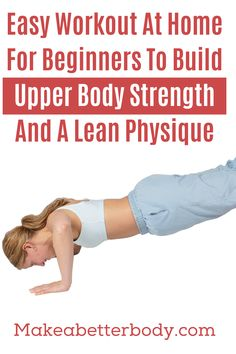 A Bodyweight Strength Training Workout Routine For Beginners To Build a Powerful Core - Make A Better Body Beginner Workout At Home, Easy At Home Workouts, Workout Routines For Beginners, Home Exercise Routines, Do Exercise, Metabolic Workouts, Bodyweight Strength Training, Body Weight, Ultimate Workout