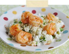 Spicy Shrimp with Ginger Coconut Rice by jacquelynnesteves #Shrimp #Ginger #Coconut #Rice