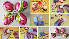 How to Decoupage Easter Eggs