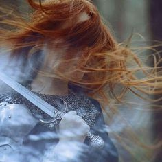 medieval, warrior, and red hair image Story Inspiration, Writing Inspiration, Character Inspiration, Warrior Queen, Viking Warrior, Viking Queen, Warrior Girl, Fantasy Warrior, Warrior Princess