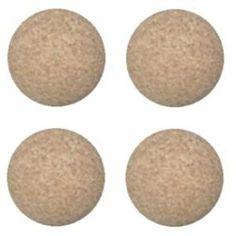 4 Yellow Foosballs Textured Table Soccer Balls Dynamo