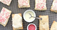 Homemade pop tarts-- all the fun, none of the cardboard flavor, and much easier than I thought!
