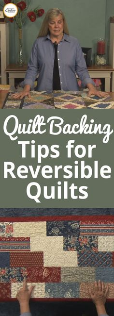 A quilt backing is usually one of the last things quilters think about when planning out a project. Rather the fabric, pattern and quilting motif or design comes first. ZJ Humbach explains why it is important to think about a quilt backing from the very beginning. Backing A Quilt, Quilt Border, Quilting Tools, Hand Quilting, Quilting Designs, Quilting Ideas, Quilting Projects, Quilt Binding, Quilt Stitching