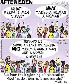 After Eden Maker of Men and Women Christian Comics, Christian Cartoons, Christian Memes, Christian Faith, Christian Kids, Bible Verses Quotes, Faith Quotes, Godly Quotes, Bible Scriptures