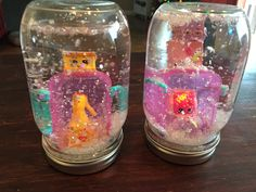 Shopkins Snow Globes.