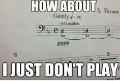 This dynamic marking that may as well be silence. | 18 Things That Are Only Funny To Musicians