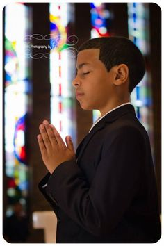 First communion photography Kids / boy