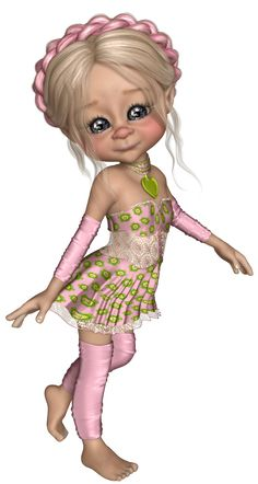 Sweet Little Free-juni Gifs, Glitter Girl, Little Designs, Digital Portrait, Princess Zelda, Disney Princess, Whimsical Art, Cute Illustration, Girl Cartoon