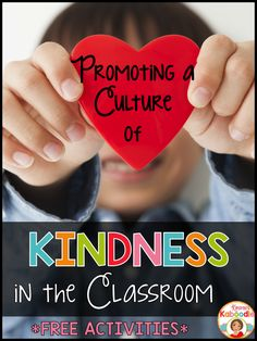 Do you want to promote a culture of kindness in the classroom? These free kindness activities will help you face the challenging task of helping students feel included and respected in an ever increasing hostile world. Kindness activities for the classroom are not just a luxury, they are a necessity!