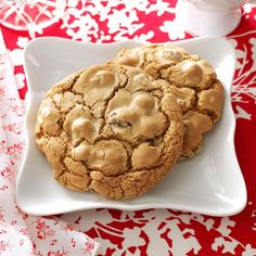 German Spice Cookies Recipe -These chewy spice cookies are great with coffee and taste even better the next day. The recipe has been a family favorite for more than 40 years.