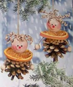 13 Endlessly Fun Pine Cone Crafts For Kids Kids Christmas Ornaments, 3d Christmas, Natural Christmas, Christmas Crafts For Kids, Rustic Christmas, Christmas Projects, Holiday Crafts, Pinecone Crafts Kids, Pine Cone Crafts