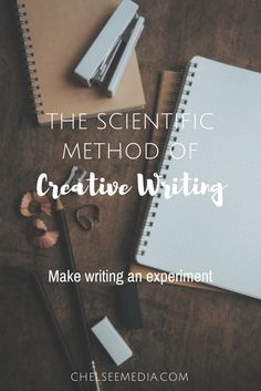 Having a hard time writing? Maybe you need a lighter touch. Turn writing into an experiment and have fun! Learn the scientific method of creative writing.