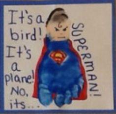 Superman Footprint
