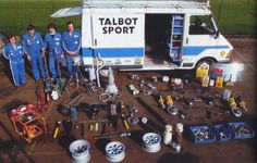 Talbot rally team parts