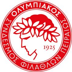 Olympiacos Football Club (ΠΑΕ Ολυμπιακός Σύνδεσμος Φιλάθλων Πειραιώς / Olympiacos Club of Fans of Piraeus) | Country: Greece / Ελλάδα. País: Grecia. | Founded/Fundado: 1925/03/10 | Badge/Crest/Logo/Escudo.